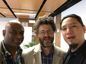 Lancelot, Wray and Dekai at HKUST