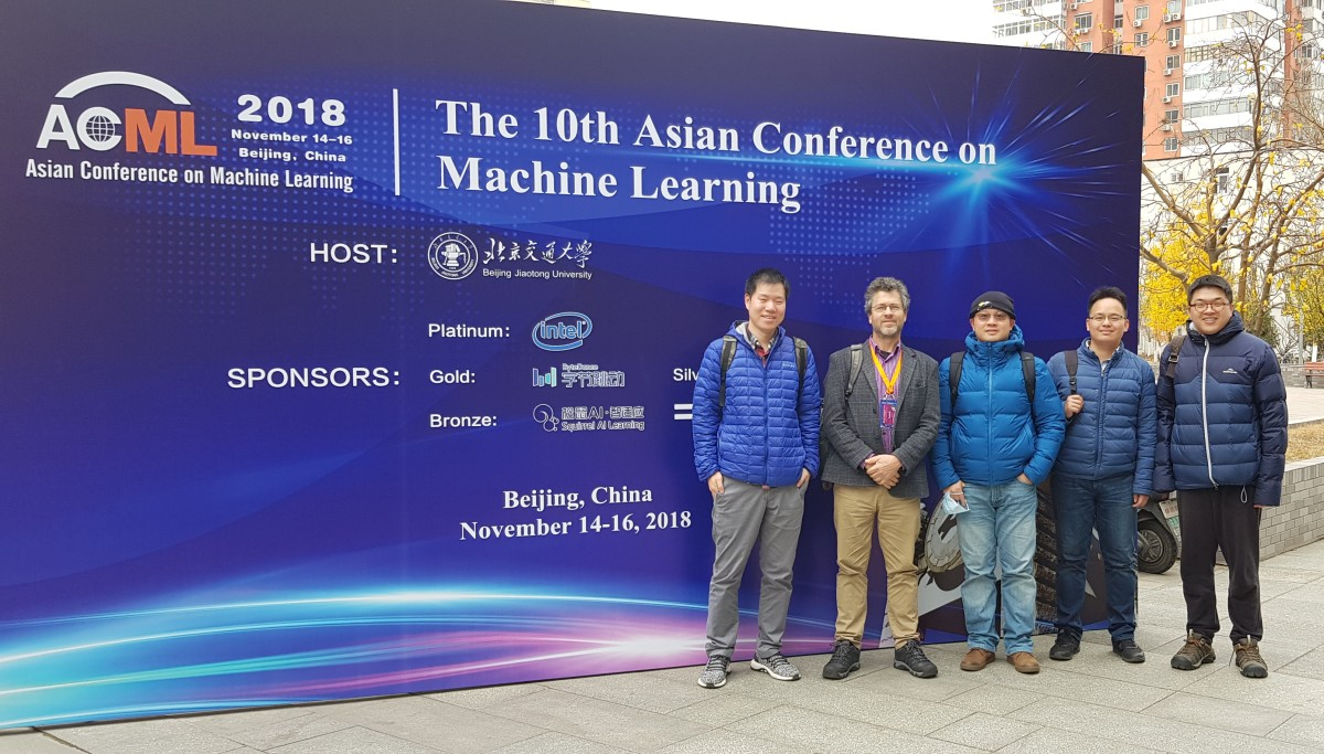 Monash (past and present) at ACML 2018