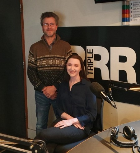 Caitie and Wray at 3RRR